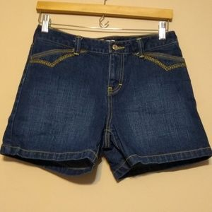 Tommy Hilfiger high rise jean shorts size 2